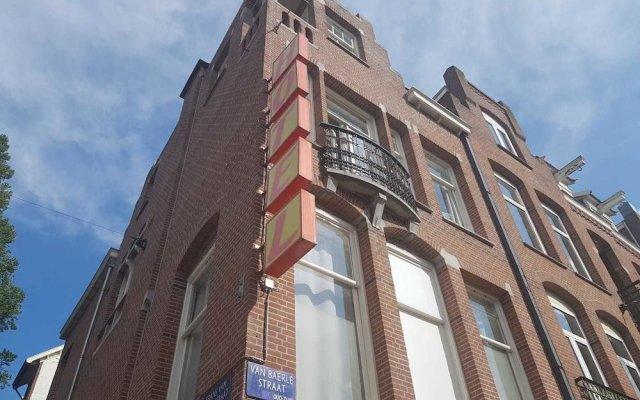 Отель Hostel Cosmos Amsterdam Нидерланды, Амстердам - отзывы, цены и фото номеров - забронировать отель Hostel Cosmos Amsterdam онлайн вид на фасад