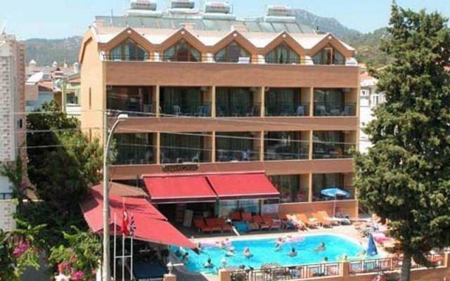 Marmaris Esen Hotel вид на фасад