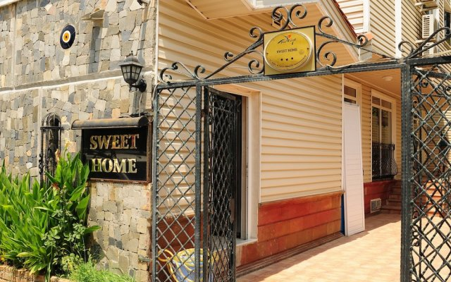 Sweet Home Boutique Hotel вид на фасад