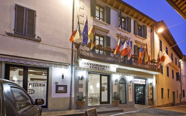 Отель Italia Ristorante Pizzeria Италия, Реггелло - отзывы, цены и фото номеров - забронировать отель Italia Ristorante Pizzeria онлайн вид на фасад
