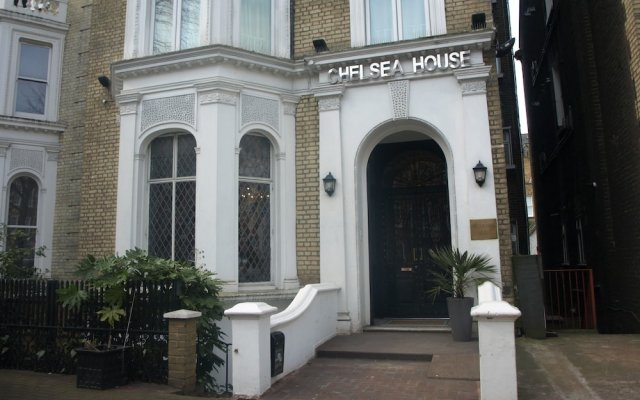 Отель Chelsea House Лондон вид на фасад