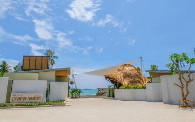 Отель Prana Resort Samui вид на фасад