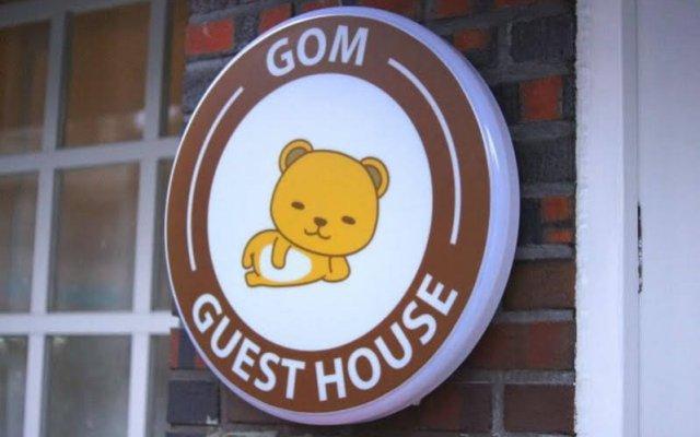 Отель Gom Guesthouse Dongdaemun вид на фасад