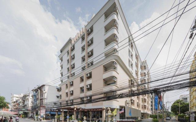 Отель Kv Mansion Бангкок вид на фасад