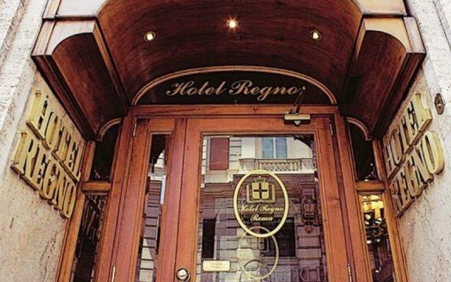 Отель Regno Италия, Рим - 4 отзыва об отеле, цены и фото номеров - забронировать отель Regno онлайн вид на фасад