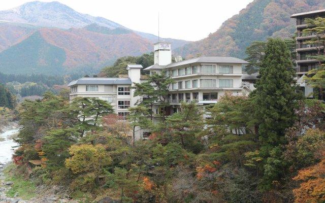 Отель Hananoyado Matsuya Никко вид на фасад