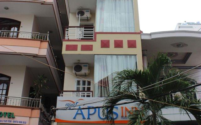 Отель Apus Inn вид на фасад