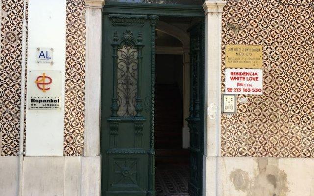 Отель Residencia White Love Лиссабон вид на фасад