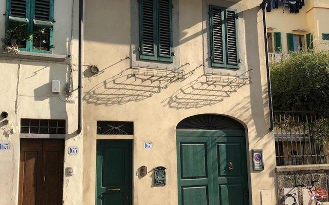 Отель Casa Romana Флоренция вид на фасад