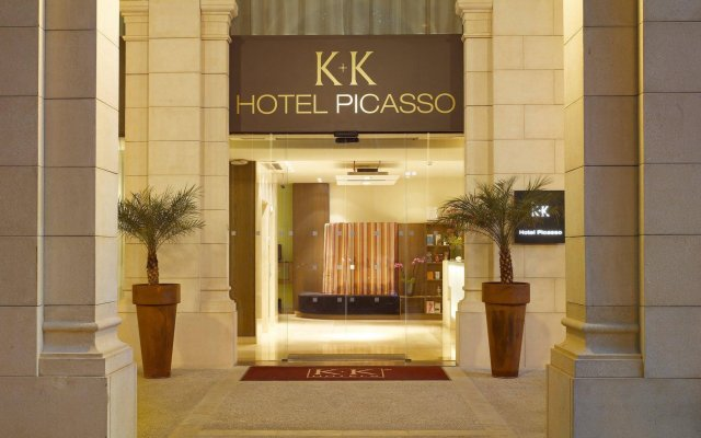 Отель K+K Hotel Picasso Испания, Барселона - 1 отзыв об отеле, цены и фото номеров - забронировать отель K+K Hotel Picasso онлайн вид на фасад