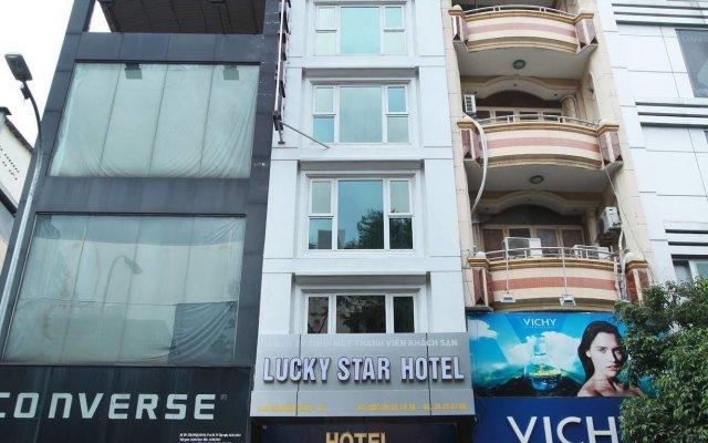 Lucky Star Hotel Nguyen Trai вид на фасад
