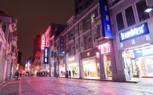 Отель Yuexin Hotel Китай, Гуанчжоу - отзывы, цены и фото номеров - забронировать отель Yuexin Hotel онлайн вид на фасад