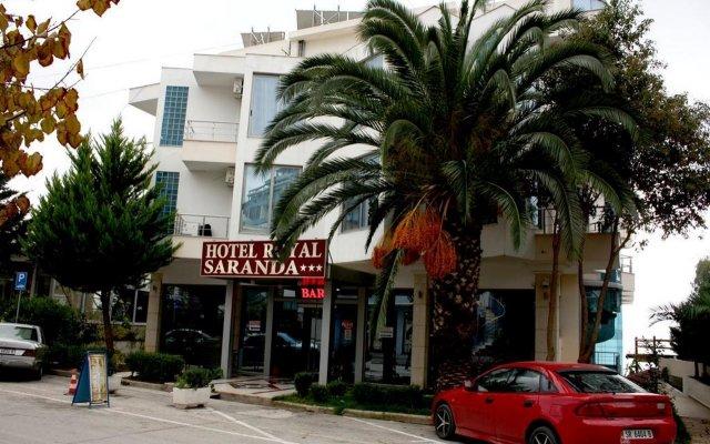 Отель Royal Saranda вид на фасад