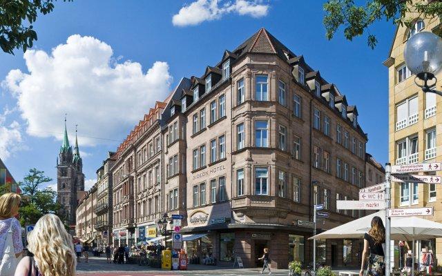 Отель Gideon Hotel Германия, Нюрнберг - отзывы, цены и фото номеров - забронировать отель Gideon Hotel онлайн вид на фасад