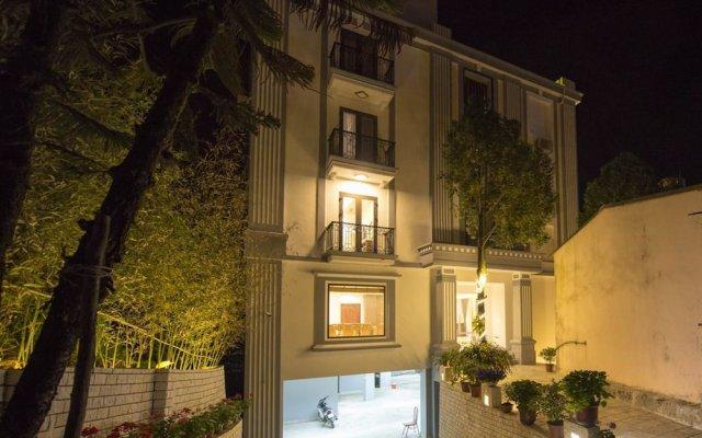 Sapa Wings Hotel вид на фасад