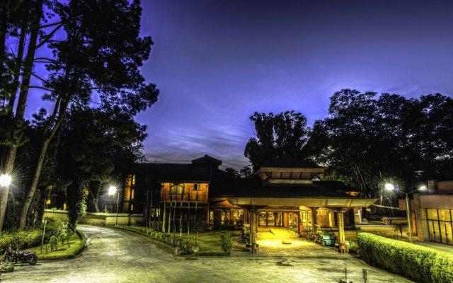 Отель Gokarna Forest Resort Непал, Катманду - отзывы, цены и фото номеров - забронировать отель Gokarna Forest Resort онлайн вид на фасад