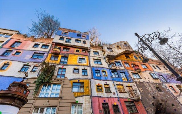 Апартаменты Govienna Belvedere Apartment Вена вид на фасад