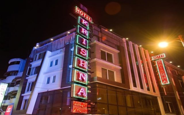 Hotel Krishna вид на фасад