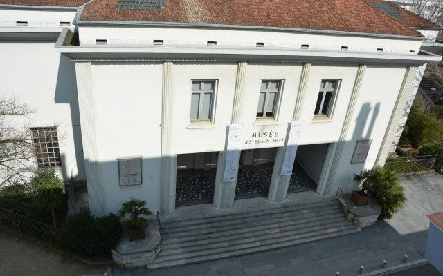 Отель Le Matisse вид на фасад