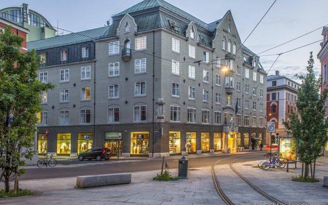Отель Hotell Bondeheimen вид на фасад