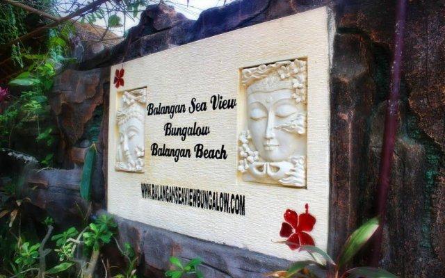 Отель Balangan Sea View Bungalow вид на фасад
