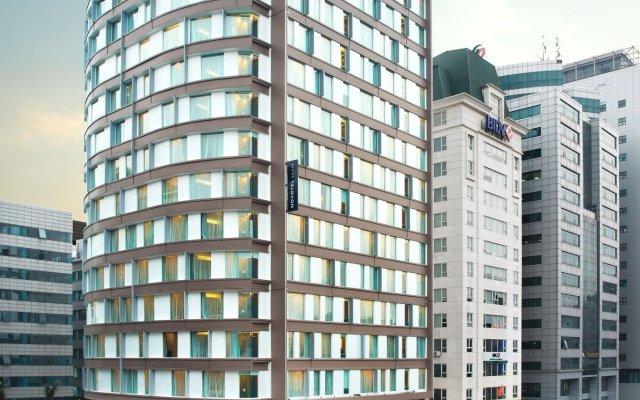 Отель Novotel Suites Hanoi вид на фасад