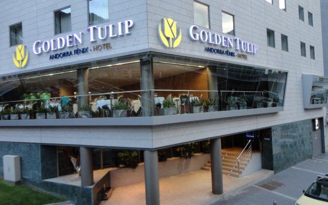 Отель Golden Tulip Andorra Fènix вид на фасад