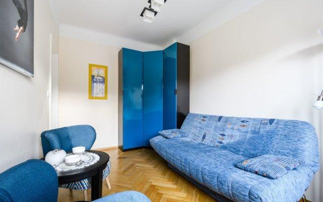 Апартаменты P&O Apartments Plac Willsona комната для гостей