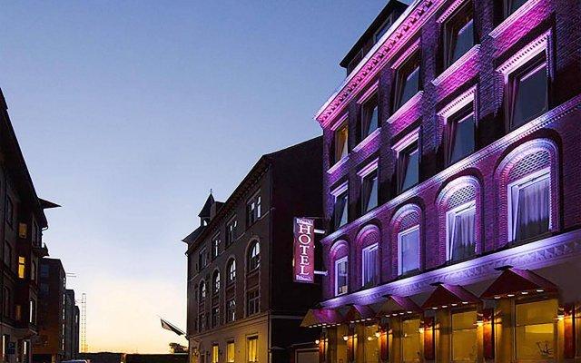 Hotel Domir Odense вид на фасад