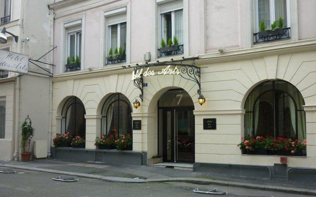Отель des Arts Франция, Париж - отзывы, цены и фото номеров - забронировать отель des Arts онлайн вид на фасад