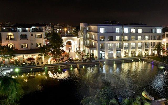 Отель Garco Dragon Hotel 2 Вьетнам, Ханой - отзывы, цены и фото номеров - забронировать отель Garco Dragon Hotel 2 онлайн вид на фасад