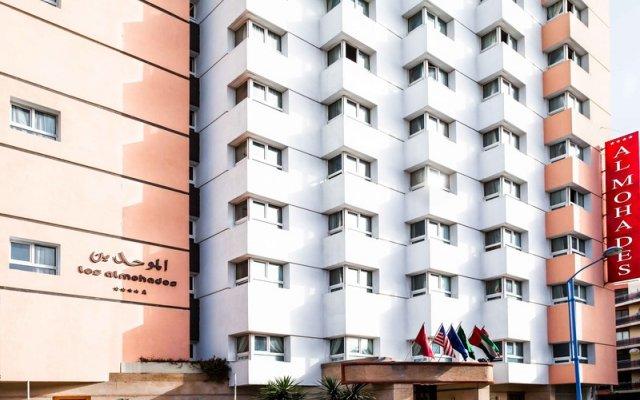 Отель Atlas Almohades Casablanca City Center Марокко, Касабланка - 2 отзыва об отеле, цены и фото номеров - забронировать отель Atlas Almohades Casablanca City Center онлайн вид на фасад