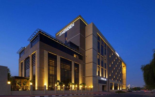 Le Meridien Dubai Hotel & Conference Centre вид на фасад