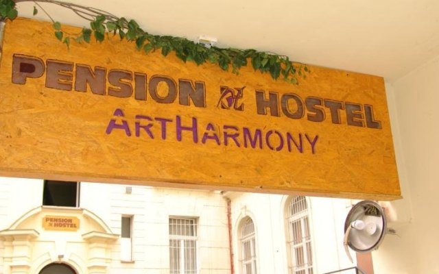 Отель Pension & Hostel Artharmony Чехия, Прага - 8 отзывов об отеле, цены и фото номеров - забронировать отель Pension & Hostel Artharmony онлайн вид на фасад