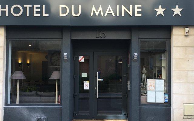 Отель Hôtel du Maine Франция, Париж - отзывы, цены и фото номеров - забронировать отель Hôtel du Maine онлайн вид на фасад