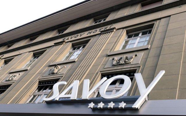 Отель Savoy Швейцария, Берн - 1 отзыв об отеле, цены и фото номеров - забронировать отель Savoy онлайн вид на фасад