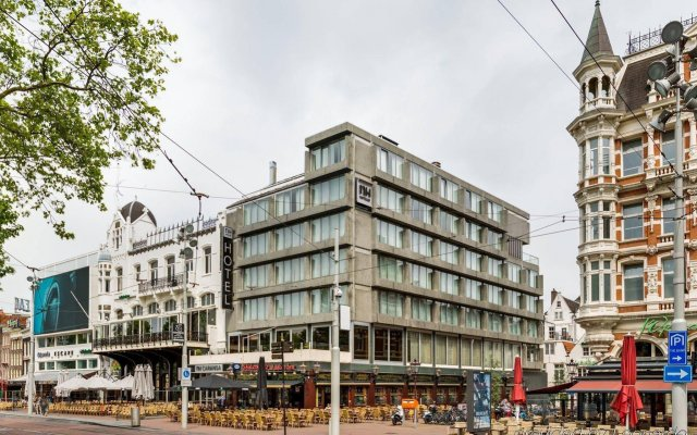 Отель NH Amsterdam Caransa Нидерланды, Амстердам - 1 отзыв об отеле, цены и фото номеров - забронировать отель NH Amsterdam Caransa онлайн вид на фасад
