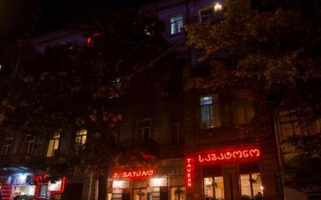 Отель TiflisLux Boutique Guest House вид на фасад