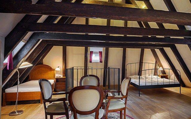 Отель & Residence U Tri Bubnu Чехия, Прага - 12 отзывов об отеле, цены и фото номеров - забронировать отель & Residence U Tri Bubnu онлайн вид на фасад