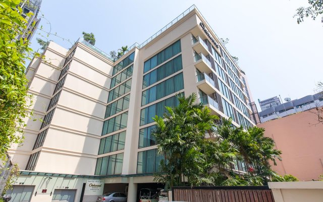 Отель Novotel Ploenchit Sukhumvit Бангкок вид на фасад