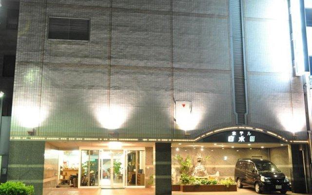 Hotel Hakusuien Минамиавадзи вид на фасад