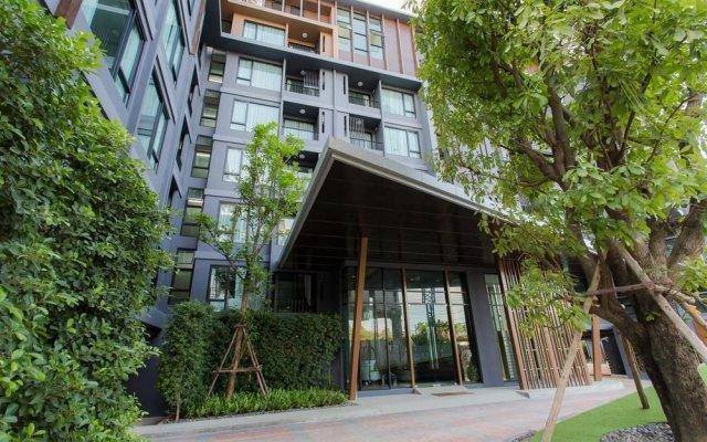 Апартаменты 6th Avenue Phuket Apartments вид на фасад
