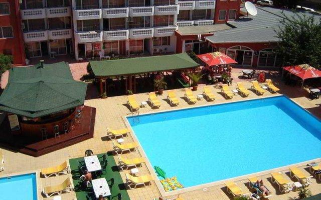 Отель Polyusi - All Inclusive Light Болгария, Солнечный берег - отзывы, цены и фото номеров - забронировать отель Polyusi - All Inclusive Light онлайн бассейн