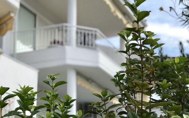 Отель Sand & Sea design apartment Греция, Пефкохори - отзывы, цены и фото номеров - забронировать отель Sand & Sea design apartment онлайн вид на фасад