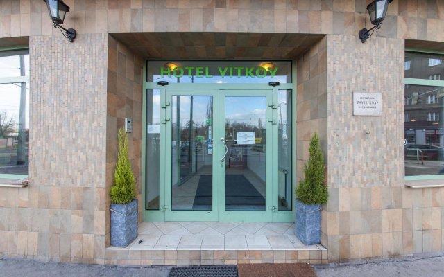 Отель Novum Hotel Vitkov Чехия, Прага - - забронировать отель Novum Hotel Vitkov, цены и фото номеров вид на фасад