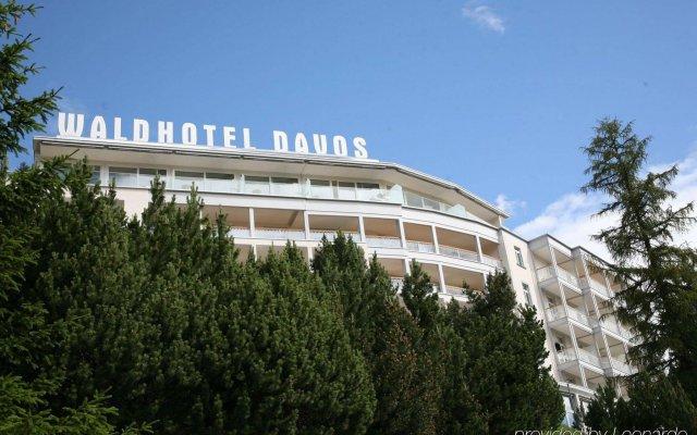 Отель Waldhotel Davos Швейцария, Давос - отзывы, цены и фото номеров - забронировать отель Waldhotel Davos онлайн вид на фасад