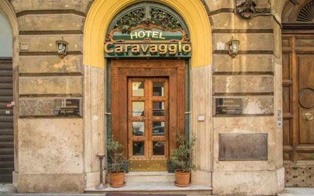 Hotel Caravaggio вид на фасад