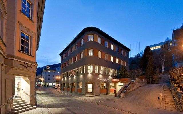 Отель Donatz Швейцария, Самедан - отзывы, цены и фото номеров - забронировать отель Donatz онлайн вид на фасад