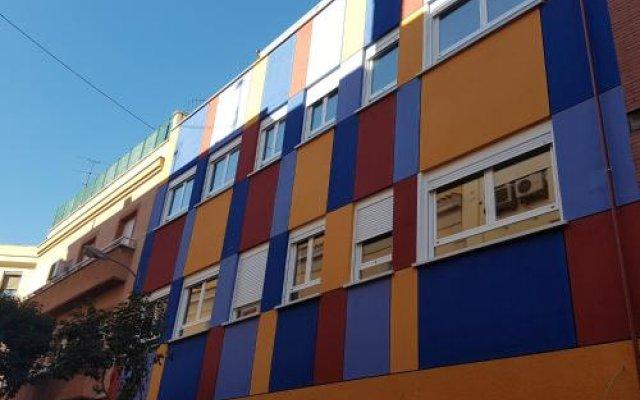 Отель Aparthotel Avenida De America Tijcal вид на фасад