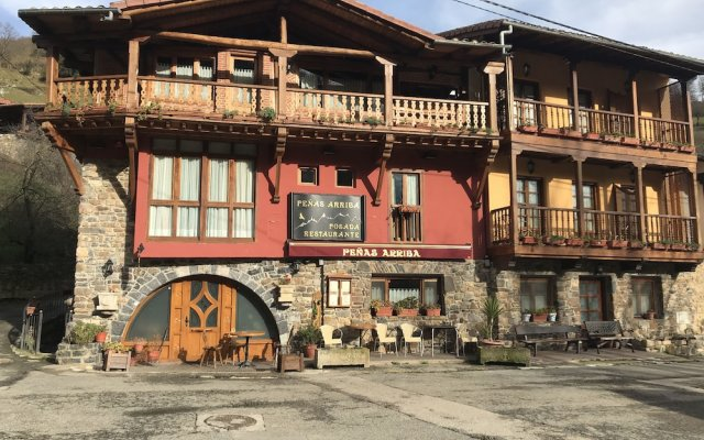 Отель Posada Peñas Arriba Камалено вид на фасад